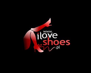 I Love Shoes logo design
