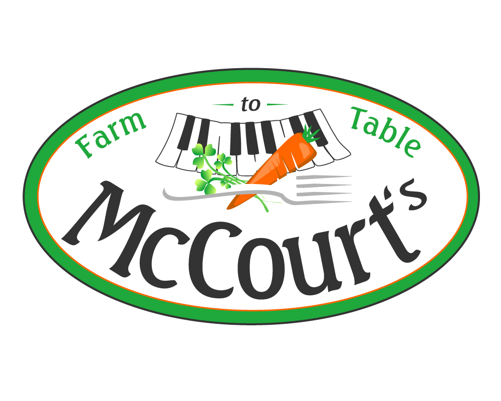 McCourt logo design