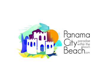 Panama City Beach logo design