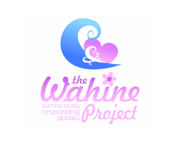 WahineProject logo design