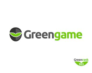 greenGame logo design